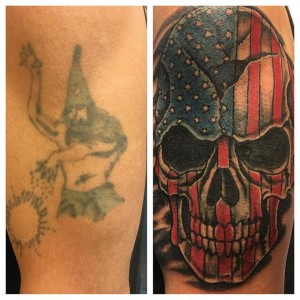 merica cover up